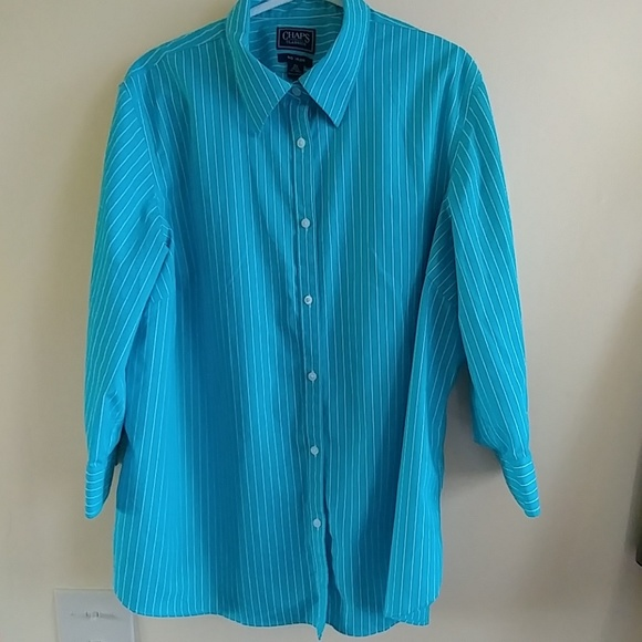 e00bb627ef6 Chaps Tops - PLUS SIZE CHAPS Classics no iron shirt 2X